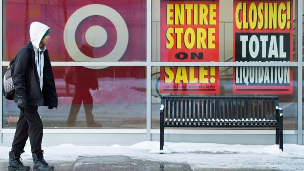 Target Canada is closing all its stores by April 12.