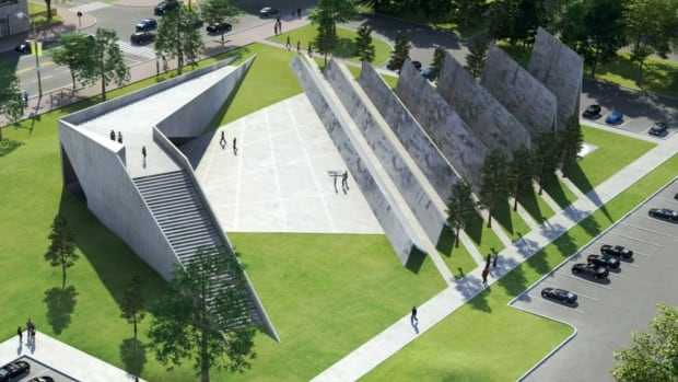The original design for the National Memorial to Victims of Communism on Wellington Street in Ottawa. The federal government is now launching a new design competition.