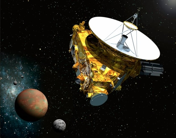 New Horizons spacecraft approaches Pluto