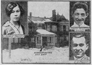 Massey murders 100 years Carrie Davis C A Massey Feb 9 1915