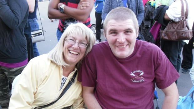 Joan Rush says her severely autistic son Graeme struggles to get basic dental care.