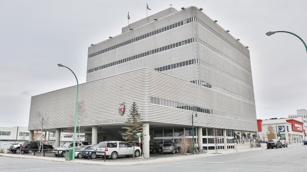 The N.W.T. Legal Services Board, located in the Yellowknife courthouse building, does not offer funding to people launching human rights complaints - a policy now being challenged with the ruling this week of an adjudicator.