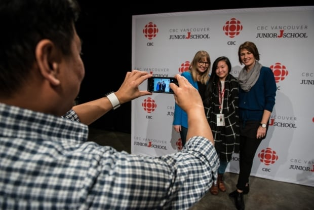 Junior J-School students connect with CBC journalists