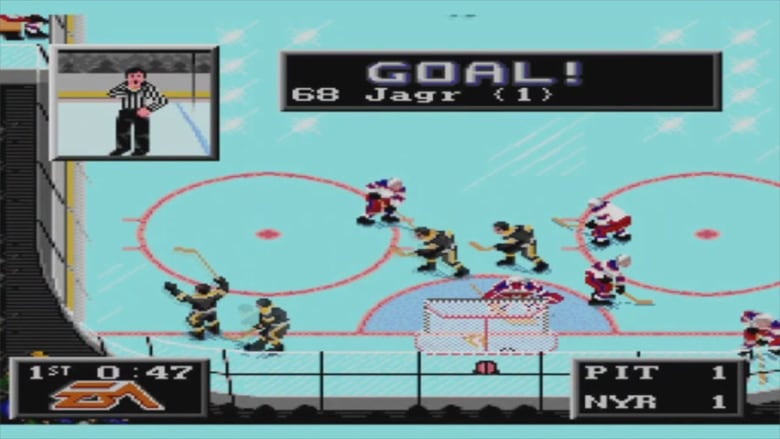 NHL  94 is considered one of the greatest sports video games ever made.  (Sega Genesis) 33a045fe3