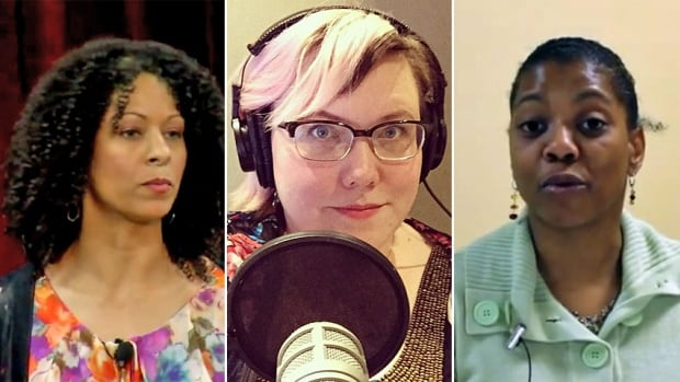 Twitter users from left, Adria Richards, Lindy West and Shireen Mitchell, have all endured varying degrees of online harassment, which they agree has been difficult to tackle due to the social media platform's limited abilities to stop online trolls.