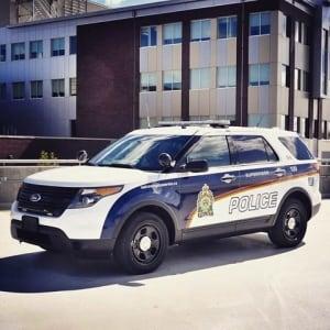 Saskatoon police vehicle