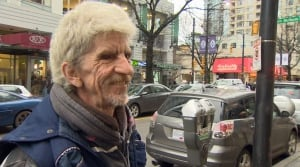 Tim Hortons water thrown on homeless man