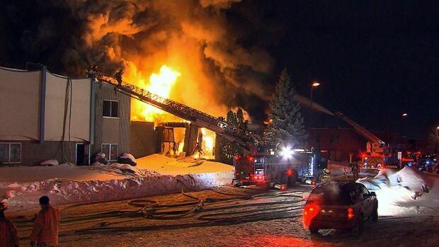 RDP mattress factory fire Feb 7 2015