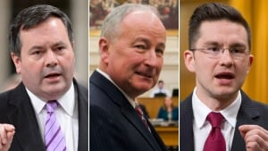 Kenney, Nicholson and Poilievre shuffled