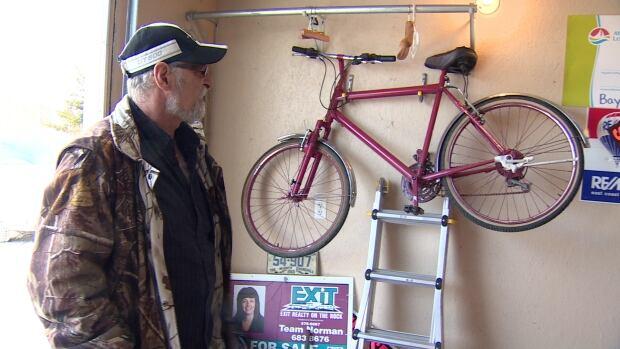 Wayne Hiltz-bicycle