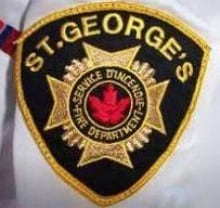 St. Georges fire department badge
