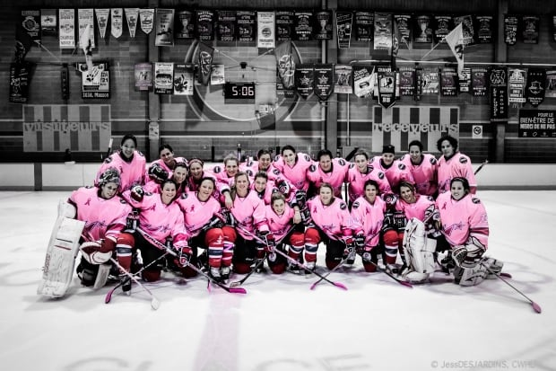 Montreal Stars at fourth annual breast cancer fundraiser