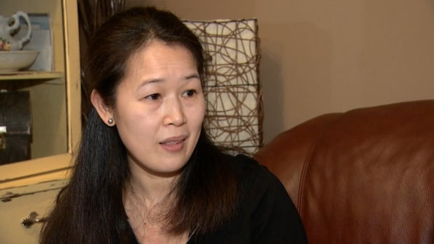 Teresita Seradilla, who works as a nanny for an Airdrie family, is being forced to fly home to the Philippines in order to sort out what she calls a bureaucratic mistake by Immigration Canada on her residency application.
