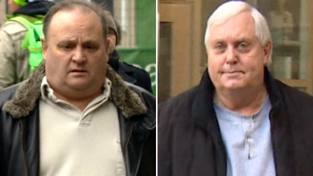 Milowe Brost, left, and Gary Sorenson are on trial for what police have called the largest Ponzi scheme in Canadian history. Their fates now rest with a jury that has been sequestered until a verdict is reached.