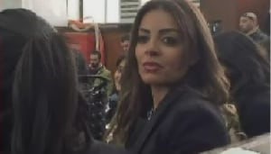 Fahmy's fiancée, Marwa Omara, who is in Cairo for the retrial, cheered her husband's release, saying