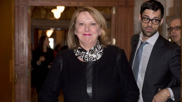 Quebec Minister of International Relations Christine St-Pierre announced the new tuition rates Thursday in Quebec City.
