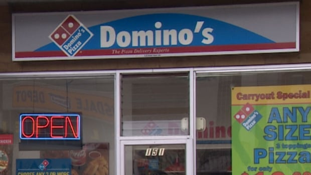 Two former employees allege they were abused by the franchise operators of this Domino's in North Vancouver, B.C.