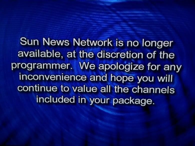 Sun News Network shuts down | CBC News