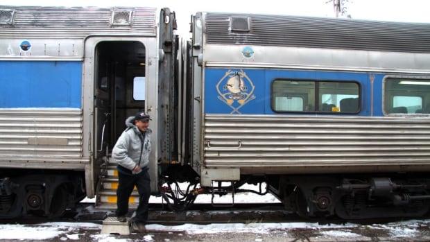 Sept-Îles train Wheeler