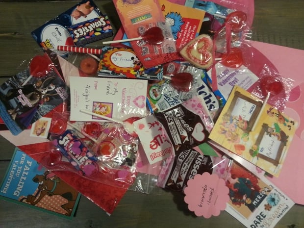 Valentine's Day candy haul