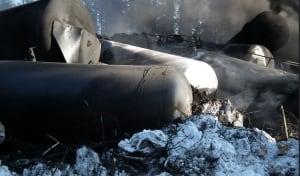 Gogama train derailment Feb. 14