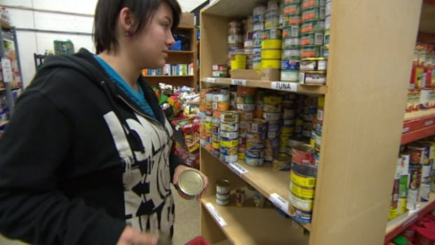 The Wood Buffalo Food Bank in Fort McMurray handed out 75 per cent more hampers last month than it did in January 2014.