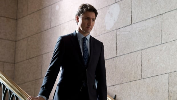Liberal Leader Justin Trudeau told reporters Tuesday that the argument given by Prime Minister Stephen Harper for appealing a ruling that would overturn the ban on wearing a niqab at citizenship ceremonies didn't justify the decision.
