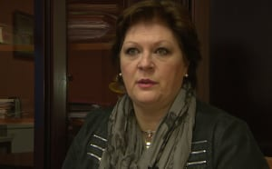 Jacqueline André-Cormier with St-Pierre-Miquelon social security fund