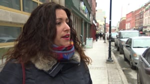 Stéphanie Bowring from St-Pierre-Miquelon in St. John's on economic impact
