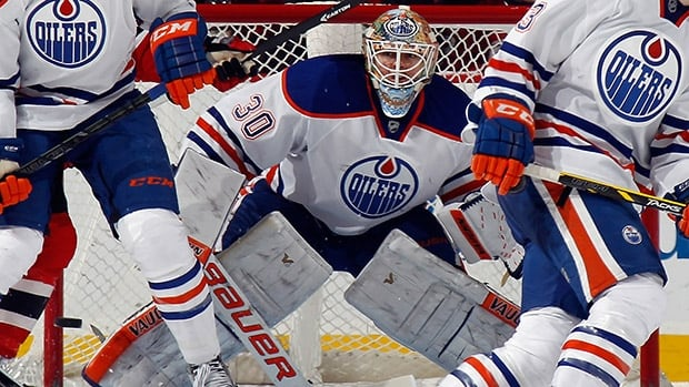 Ben Scrivens hasn't played since injuring his hamstring in a Feb. 9 road game at New Jersey.