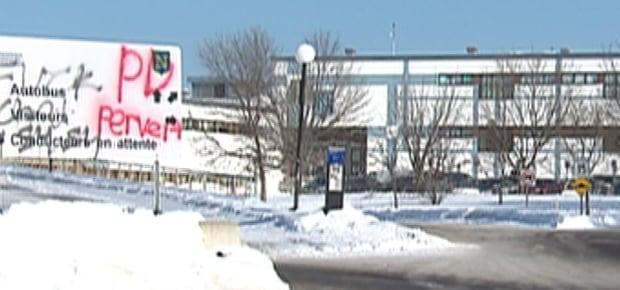 Neufchâtel high school in Quebec City