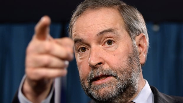 "NDP Leader Thomas Mulcair has called Bill C-51 ""sweeping, dangerous, vague and ineffective."""