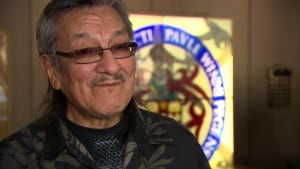Residential school survivor John Peter Flett