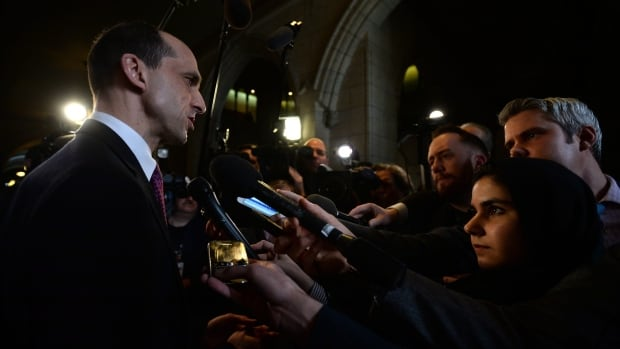 Reporters grill Public Safety Minister Steven Blaney Wednesday about Bill C-51, the federal government's latest anti-terrorism bill. Questions about scope, oversight and whether protests are exempt from the proposed legislation remain unanswered.