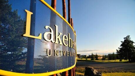 Lakehead University Campus shot