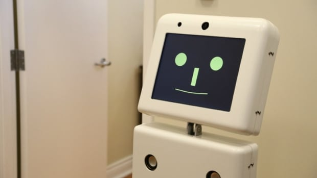Ed the mobile robot helps older adults and people with disabilities, including dementia patients, with activities of daily living.