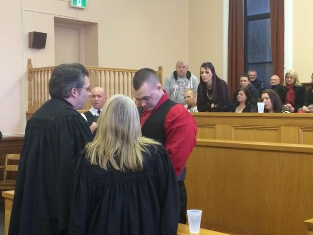 Philip Pynn and family in Supreme Court