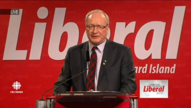 Wade MacLauchlan dropping the ceremonial writ in 2015. Don Desserud believes we could see this happen again ahead of schedule.