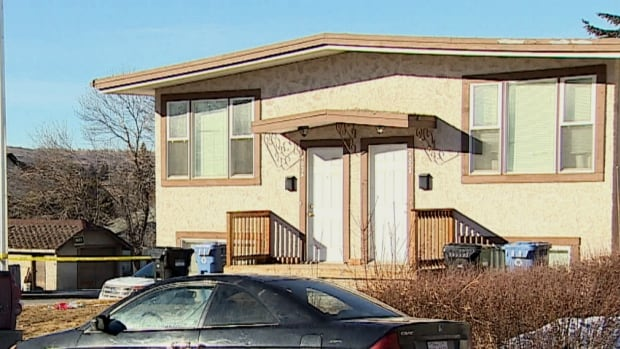 One man has died and another man is in custody following a daytime shooting Sunday in the northeast Calgary community of Winston Heights-Mountview.
