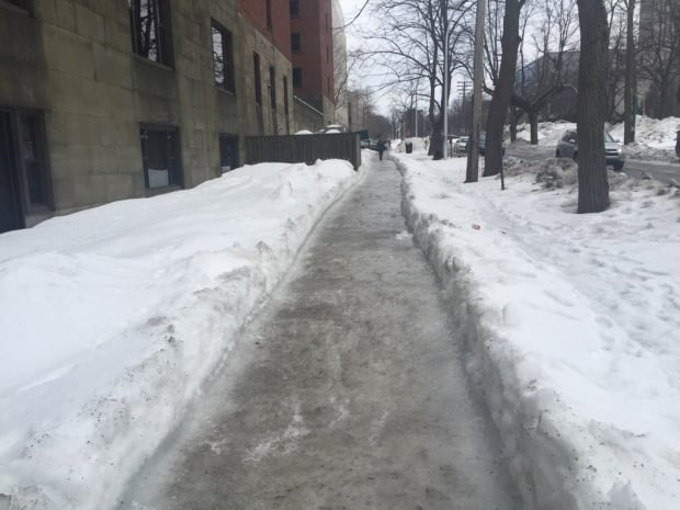 Halifax sidewalk