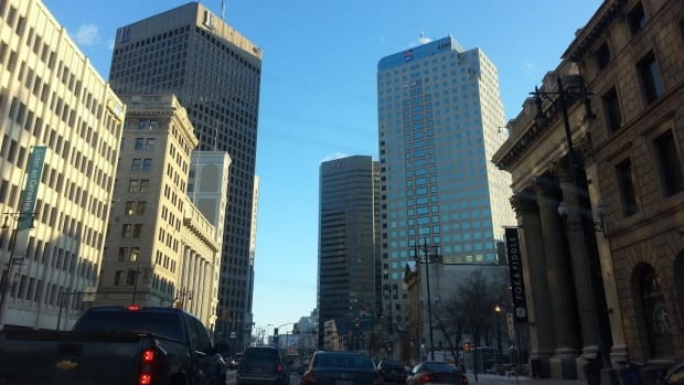 The intersection at Portage Avenue and Main Street has been closed to foot traffic for years.