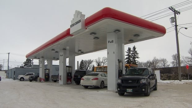 Long Plain First Nation urban reserve gas station