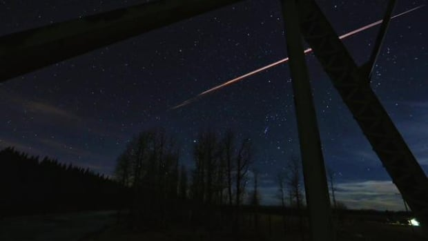 Photographer Neil Zeller got some great shots of a fireball streaking through the sky west of Calgary on Monday night.