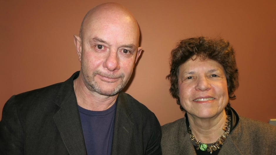 Nick Hornby and Eleanor Wachtel
