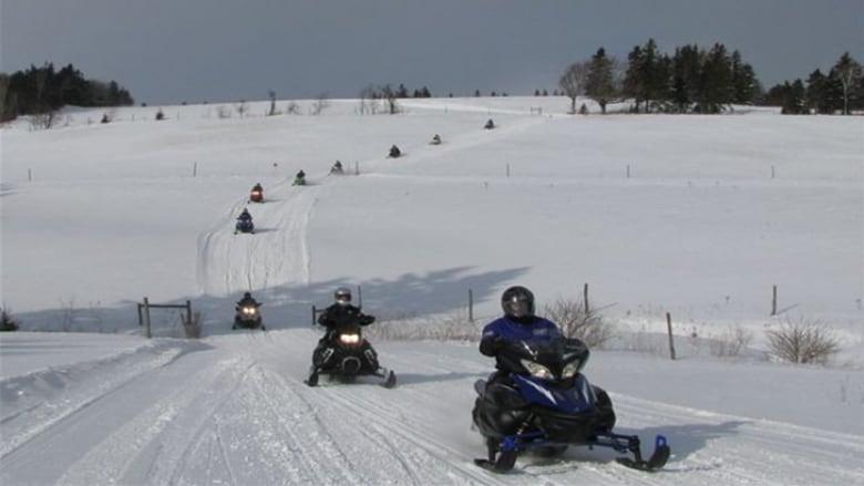 Секс на снегоходах