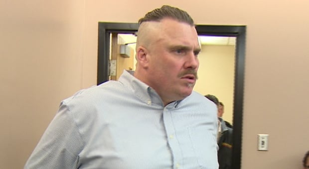 Al Potter in provincial court on Tuesday for assault trial