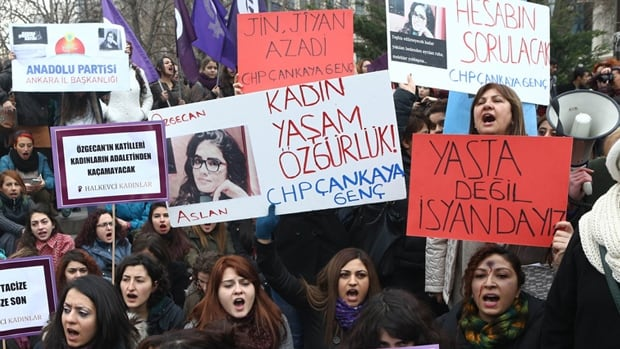 Turkey Aslan Protests