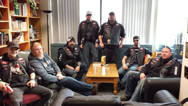 Members of the newly-formed Calgary chapter of Bikers Against Child Abuse dropped by CBC Calgary earlier this week for an interview.