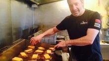 Burger 320 owner Chef Mario