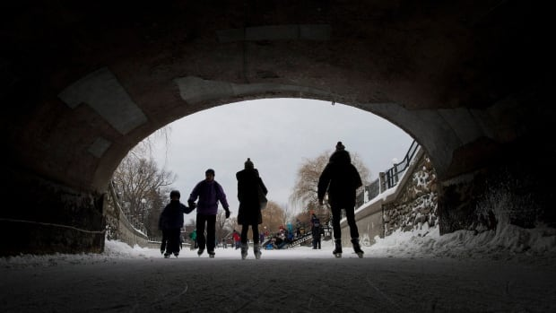 Ottawa's Rideau Canal has set a record for consecutive days open, at 47, but fewer skaters are taking to it this year compared to 2014, owing to the freezing cold weather.